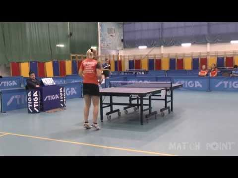 Margaryta PESOTSKA - Ekaterina GUSEVA. Russian Women's Premier League 2014-2015. Play off