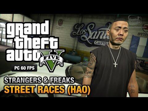 GTA 5 PC - Hao / Street Races [100% Gold Medal Walkthrough]