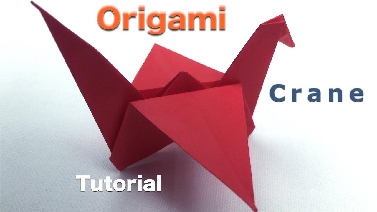 Origami Crane Tutorial - YouTube - photo#41