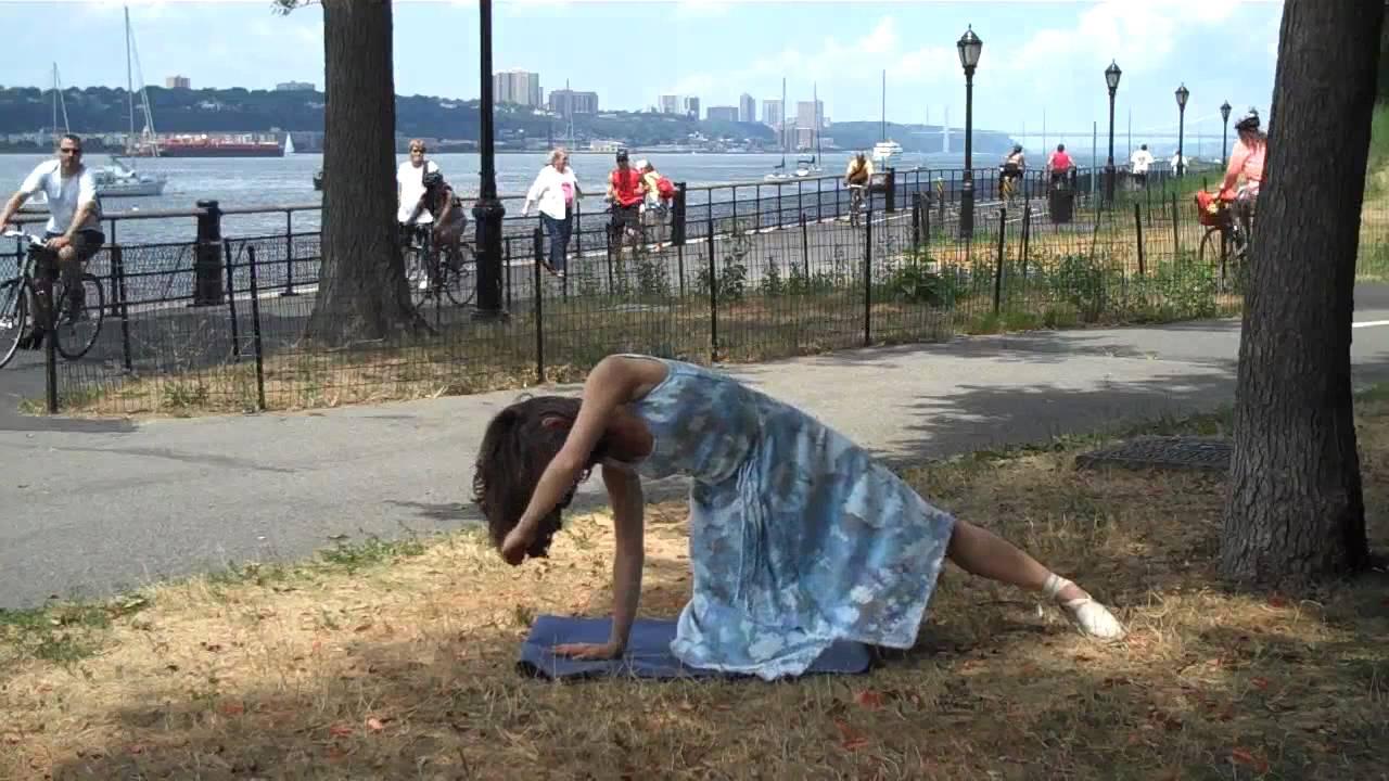 ad1c8af933 yoga in a dress at riverside park.MP4 - YouTube
