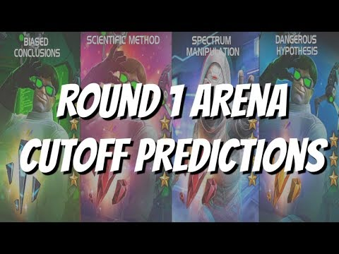 Doctor Octopus and Ghost Arena Cutoff Round 1 Predictions - Marvel Contest of Champions