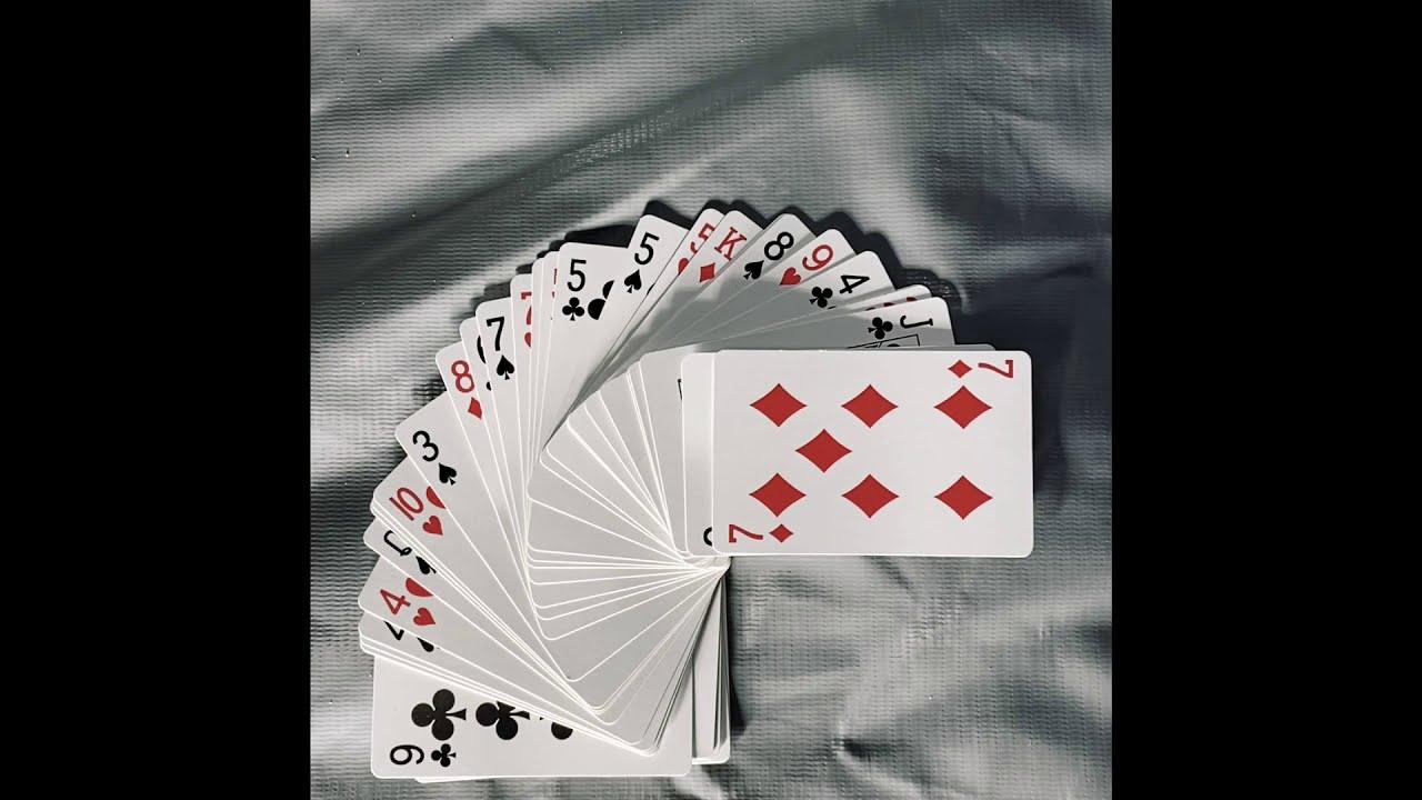 beginners card trick tutorialeasy  youtube