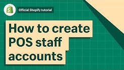 POS: How to create POS staff accounts || Shopify Help Center