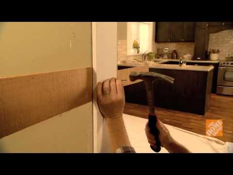 C mo instalar una puerta interior youtube for Cambiar aspecto puertas de interior