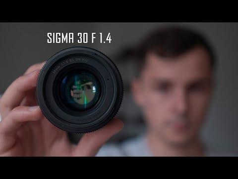 Мой САМЫЙ любимый ОБЪЕКТИВ - Sigma 30 Mm F 1.4