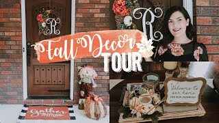 DECORATE WITH ME FOR FALL 2018 | FALL DECOR HOME TOUR| Cally Ratzlaff