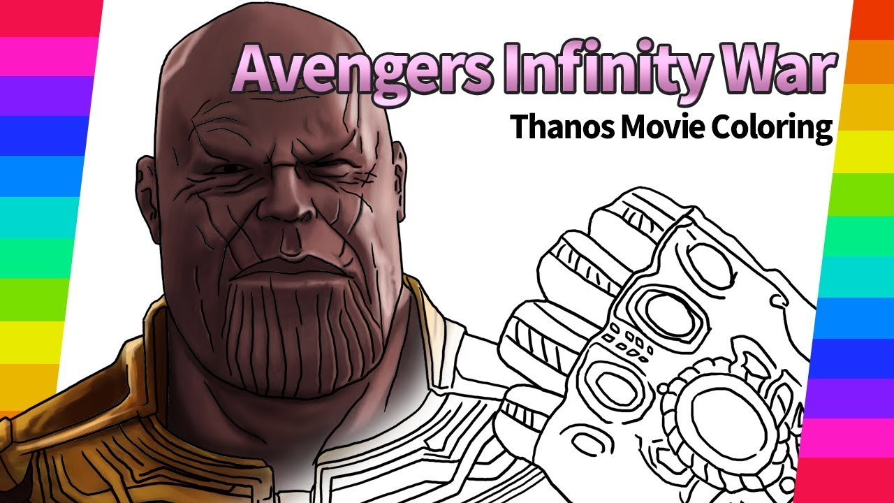Marvel Avengers Infinity War Thanos