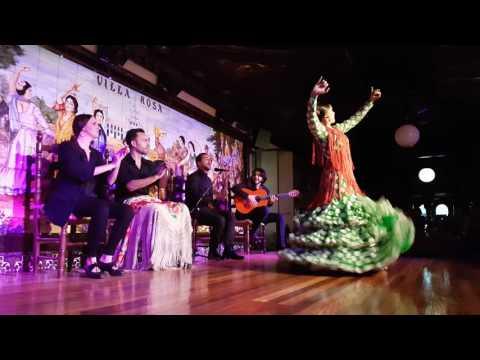Tablao Flamenco Villa Rosa V CONCURSO DE BAILE FLAMENCO Semifinales 2a ronda 1.