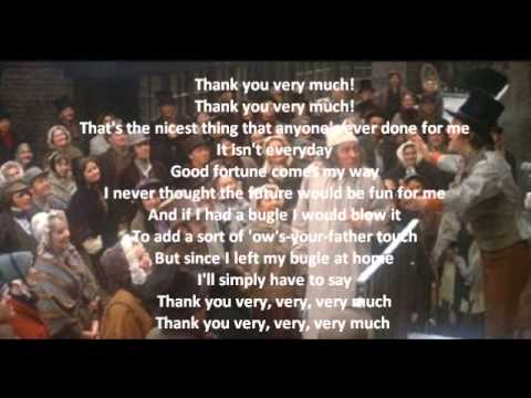 Thank You Very Much (from Scrooge) - Dierre Upshaw, piano - YouTube