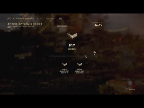 CoD WWII Ranked Search Destruction Episode 4