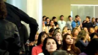 COBERTURA DA RÁDIO A VOZ DO POVO NA AUDIÊNCIA PÚBLICA DA EDUCAÇÃO NA CMNF.