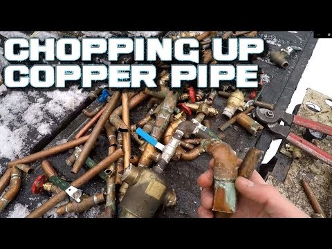 Processing Scrap Copper Into #1 And #2. Quick And Easy. Ebay And Business Talk Too.