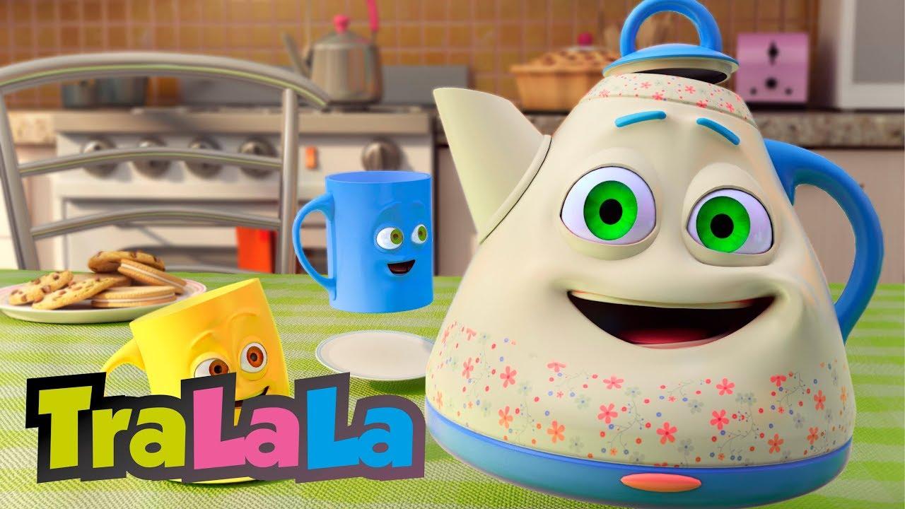 Micuțul ceainic - Cântece pentru copii | TraLaLa