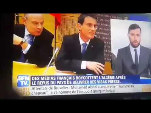 refus de visa pour les jornaliste français. 2016