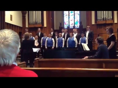 """Come Travel with Me"" by Scott Farthing. East Burke High School Men's Ensemble 03/03/16"