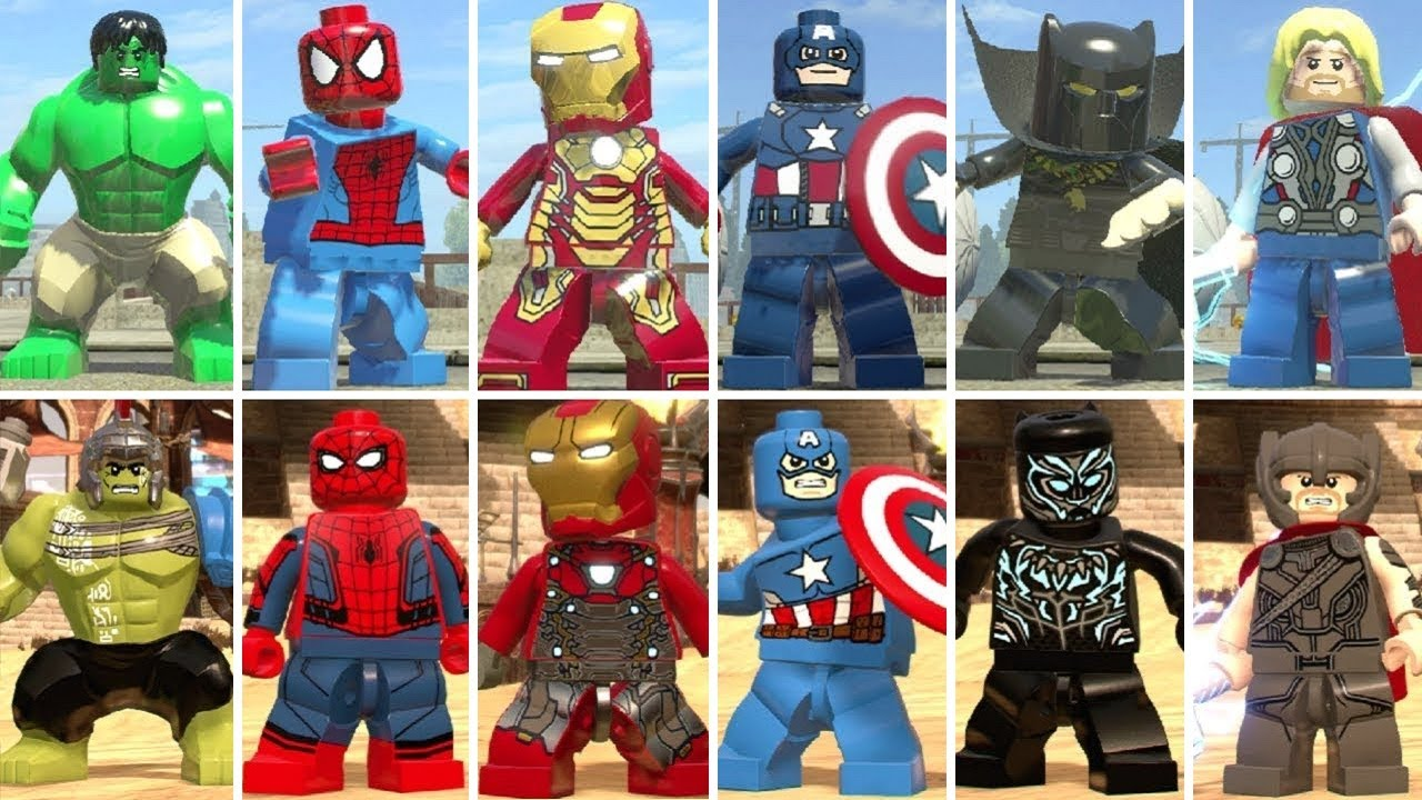 'LEGO Marvel Collection' Studio Talks 'Avengers: Endgame ...