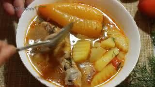 Куриный суп с картошкой Простой легкий рецепт супа на обед