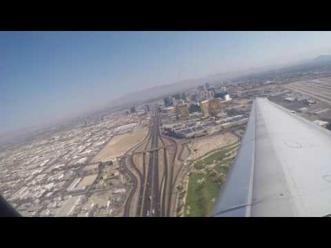 Delta Air Lines MD-90 Full Flight from Las Vegas to Minneapolis