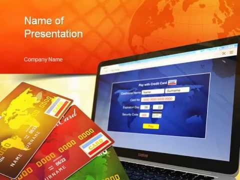 Online banking powerpoint template youtube online banking powerpoint template toneelgroepblik Choice Image