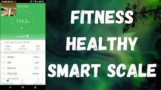 Arboleaf Bluetooth Fitness Healthy Smart Scale
