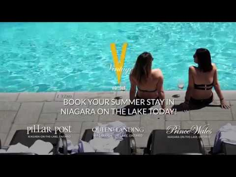 Summer in Niagara on the Lake with Vintage Hotels