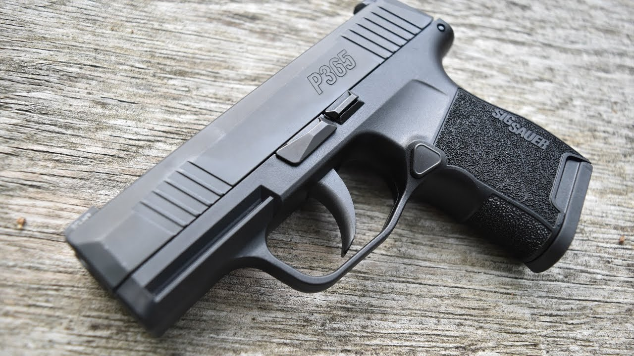 Sig P365   New Standard In Concealed Carry?