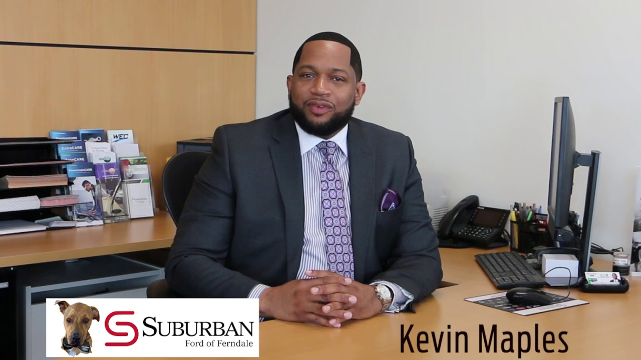 Suburban Ford Ferndale >> Suburban Ford Of Ferndale Finance Manager Kevin Maples