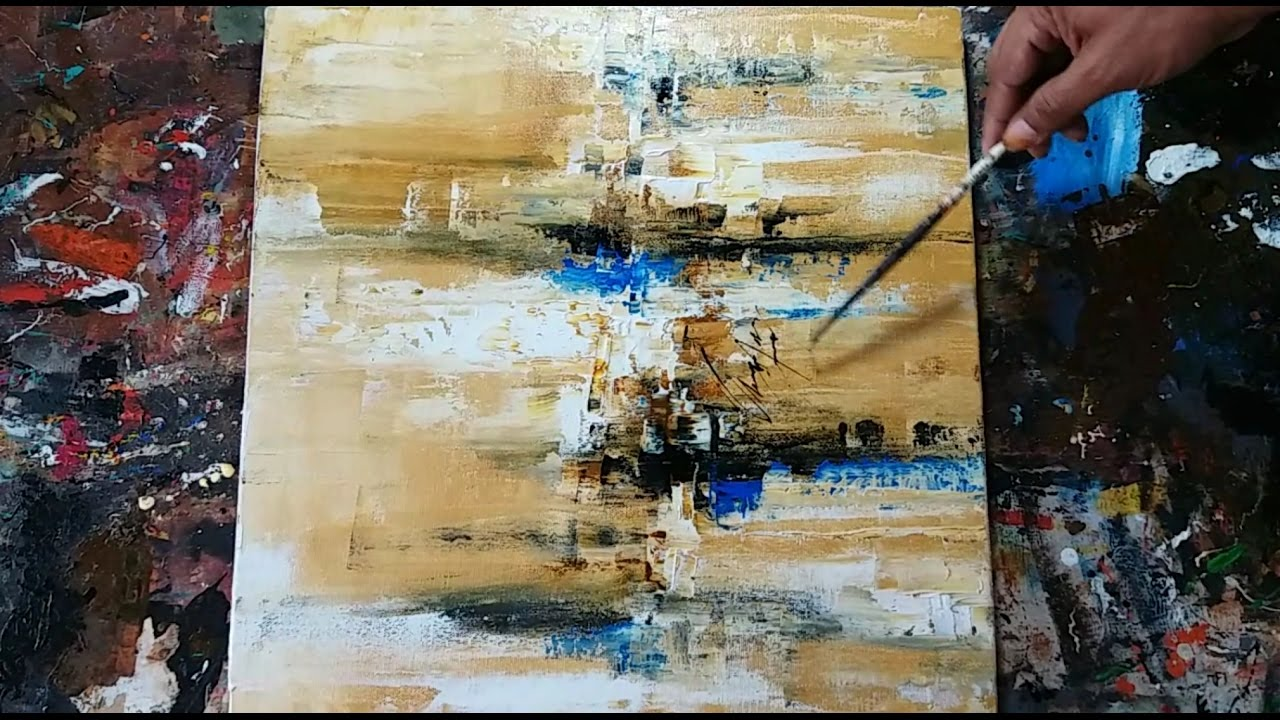 abstract painting how to paint easy abstract painting