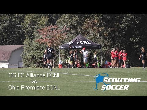 Scouting Soccer - '06 FC Alliance Vs Ohio Premiere ECNL