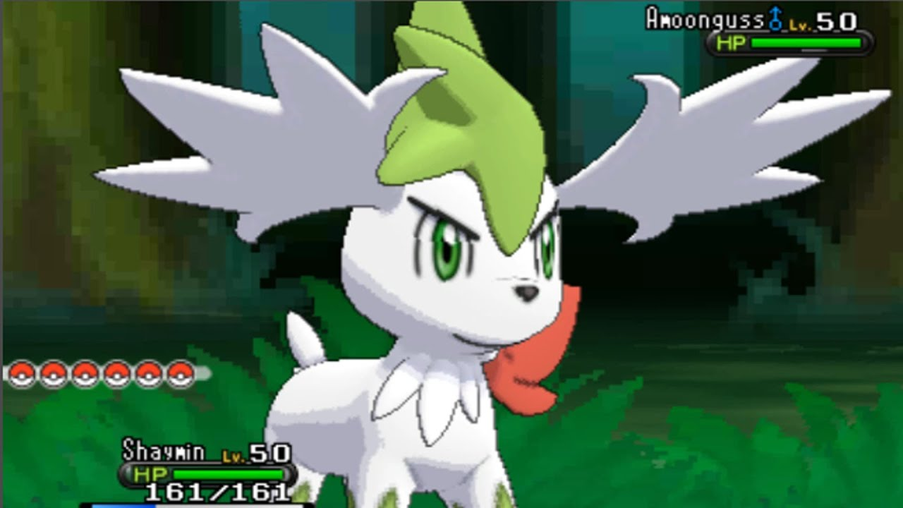 Pokemon X and Y - How To Get Shaymin Sky Form! - YouTube