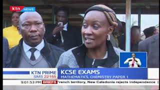 at least 600,000 students commence KCSE today