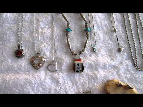 Gold and Sterling Silver Jewelry and Native American Jewelry