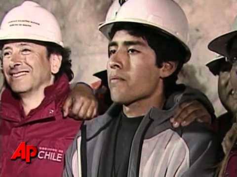 Raw Video: Last Trapped Chilean Miner Rescued