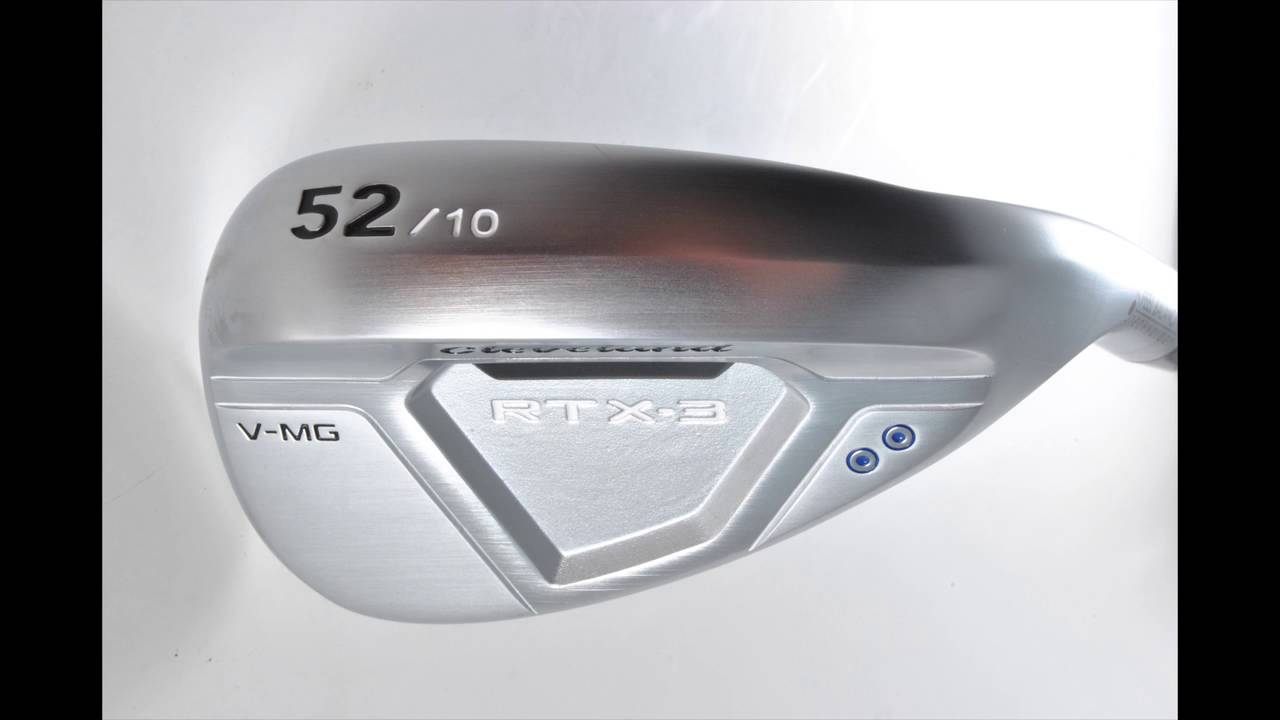 Cleveland RTX-3 CB Wedge Preview - YouTube