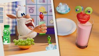 Booba  Food Puzzle: Smoothie recipe  Funny cartoons for kids - Booba ToonsTV