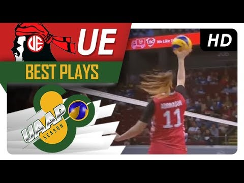 UAAP 80 WV: Shaya Adorador floors her defender with a smart off speed! - UE - Best Plays - 동영상