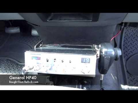 How to install a CB radio F-150 - YouTube