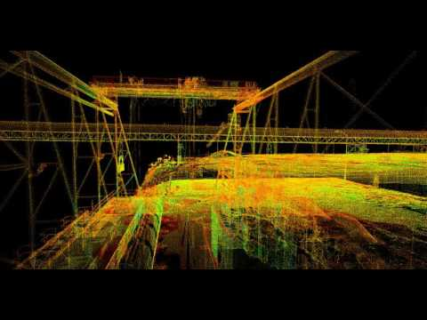 LiDAR fly through