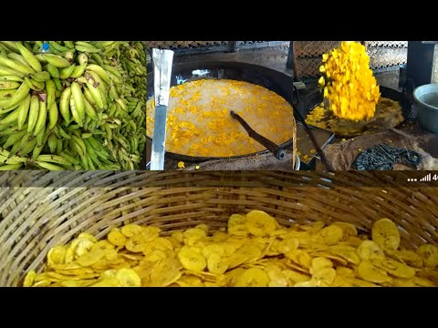 How to make banana chips at home in tamil