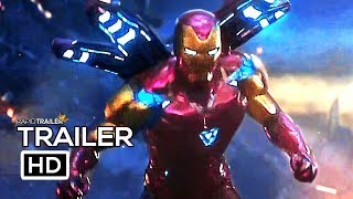 AVENGERS 4: ENDGAME 'To The End' Trailer (2019) Marvel, Superhero Movie HD