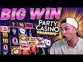 BIG WIN on Party Casino Megaways!
