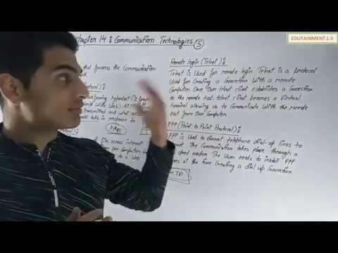 Communication Technologies Class 12 CS Chapter 14 (Video 5)