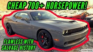Download Copart Cheap Dodge Hellcat with No Damage sells at Salvage Auction HELLKEAZY widebody Mp3 and Videos
