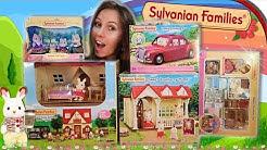 Sylvanian Families XL 🐶🏠 Starter Haus, Einrichtung, Caramel Dog Family, Auto 🚗 Unboxing deutsch