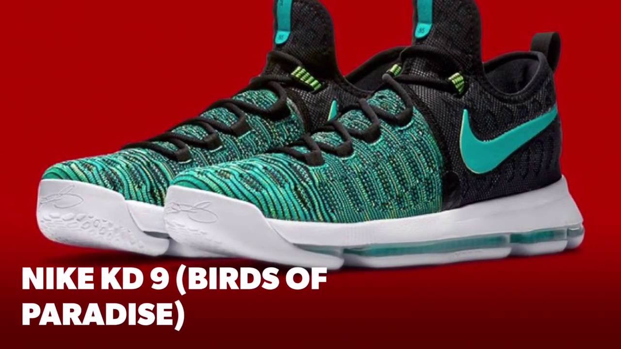 74ac8cbc1926 NIKE KD 9 (BIRDS OF PARADISE)  S SNEAKERS - YouTube