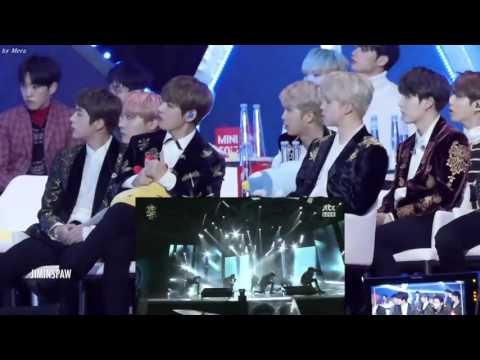 Реакция BTS на GOT7 - Hard Carry