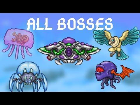 Terraria: Thorium Mod All Bosses + Mini-Bosses
