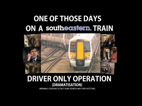 ONE OF THOSE DAYS: ON A SOUTHEASTERN TRAIN - #SouthernStrike