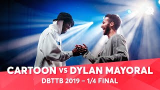 CARTOON vs DYLAN MAYORAL | ALEXINHO & COLAPS | Dance Battle to the Beatbox 2019 | 1/4 Final