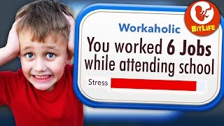 Becoming the most STRESSED out Child in Bitlife